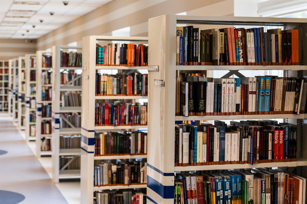 university library to show that students might benefit from proofreading and editing services